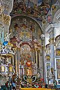 Kościół pw. Podwyższenia Krzyża Świętego - wnętrze, Brzeg, Polska<br /> Church Elevation of the Holy Cross - inside, Brzeg, Poland
