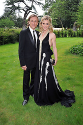 EMILIA FOX and Jeremy Gilley at the Raisa Gorbachev Foundation fourth annual fundraising gala dinner held at Stud House, Hampton Court, Surrey on 6th June 2009.