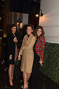 JESSICA DICKSON; MILLY WILKINSON; LILY LEWIS, Fraser Carruthers  and Harry Scofield birthday. Archie's club, 92b Old Brompton Rd. London. 11 February 2017