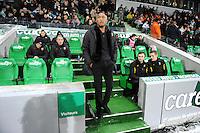 Antoine KOMBOUARE   - 06.02.2015 - Saint Etienne / Lens - 24eme journee de Ligue 1 -<br /> Photo : Jean Paul Thomas / Icon Sport