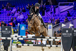 Godecharle Maxim, BEL, Figaro d'Orange Z<br /> Jumping Mechelen 2019<br /> © FEI/Dirk Caremans<br />  30/12/2019