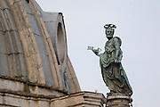 Italy, Rome, Vittorio Emanuele II Monument at Piazza Venezia. Details of the statue
