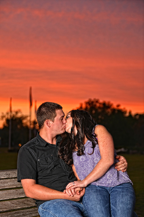 Dusty and Blythe Engagement | New Bern NC Photographers