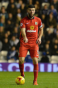 Blackburn Rovers defender Grant Hanley during the Sky Bet Championship match between Birmingham City and Blackburn Rovers at St Andrews, Birmingham, England on 3 November 2015. Photo by Alan Franklin.