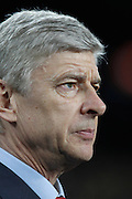 Arsenal's Arsene Wenger during the UEFA Champions League round of 16 second leg match between Barcelona and Arsenal on March 8, 2011 in Barcelona, Spain.