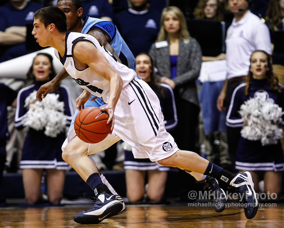 INDIANAPOLIS, IN - FEBRUARY 02:  at Hinkle Fieldhouse on February 2, 2013 in Indianapolis, Indiana. Butler defeated Rhode Island 75-68. (Photo by Michael Hickey/Getty Images) *** Local Caption *** Name; Name