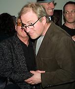BERNARD RHODES AND HARRY ENFIELD, Paul Simonon  *** Local Caption *** -DO NOT ARCHIVE-© Copyright Photograph by Dafydd Jones. 248 Clapham Rd. London SW9 0PZ. Tel 0207 820 0771. www.dafjones.com.