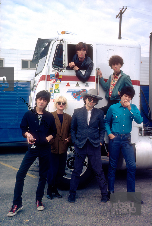 "Blondie - Debbie Harry on the set of the Movie ""Roadie"" - Texas"