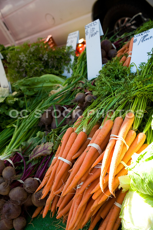 Healthy Organic Vegetables at the Anaheim Farmer's Market