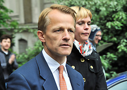 © licensed to London News Pictures. 11/05/2011. London, UK. Former Cabinet minister David Laws is to be suspended from the House of Commons for seven days for breaching expenses rules. Pictured here on May 8 2010 in Smith Square near Lib Dem Headquarters, London.  Photo credit should read Alan Roxborough/LNP