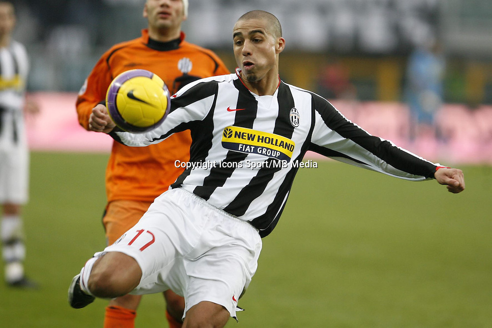 David TREZEGUET - 23.12.2007 - Juventus / Sienne - Calcio - Photo : Ipa / Icon Sport