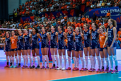 06-06-2018 NED: Volleyball Nations League Netherlands - Italy, Rotterdam<br /> Italy wins with 3-2 / Team Netherlands