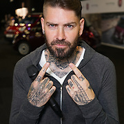 London,England,UK : 5th April 2016 : Shane Lyhch Presenter of Boyzone attends the opening the London Motor Show 2016 ,held in Battersea Evolution,in the heart of London Battersea Park. Photo by See Li