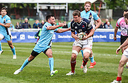 Gregor Gillanders in action during the Green King IPA Championship Play-Off match between London Scottish &amp; Worcester at Richmond, Greater London on Saturday 2nd May 2015<br /> <br /> Photo: Ken Sparks | UK Sports Pics Ltd<br /> London Scottish v Worcester, Green King IPA Championship, 2nd May 2015<br /> <br /> &copy; UK Sports Pics Ltd. FA Accredited. Football League Licence No:  FL14/15/P5700.Football Conference Licence No: PCONF 051/14 Tel +44(0)7968 045353. email ken@uksportspics.co.uk, 7 Leslie Park Road, East Croydon, Surrey CR0 6TN. Credit UK Sports Pics Ltd