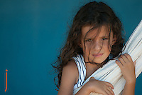 Young Girl In Brazil while traveling in Espirito Sanot Brazil 2014