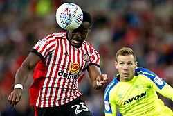 Lamine Kone of Sunderland and Andreas Weimann of Derby County - Mandatory by-line: Matt McNulty/JMP - 04/08/2017 - FOOTBALL - Stadium of Light - Sunderland, England - Sunderland v Derby County - Sky Bet Championship