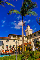 Hyatt Santa Barbara Hotel, Santa Barbara, California USA.