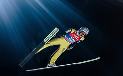 05.01.2016, Paul Ausserleitner Schanze, Bischofshofen, AUT, FIS Weltcup Ski Sprung, Vierschanzentournee, Qualifikation, im Bild Gregor Deschwanden (SUI) // Gregor Deschwanden of Switzerland during his Qualification Jump for the Four Hills Tournament of FIS Ski Jumping World Cup at the Paul Ausserleitner Schanze, Bischofshofen, Austria on 2016/01/05. EXPA Pictures © 2016, PhotoCredit: EXPA/ JFK