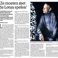 Tekst en beeld zijn auteursrechtelijk beschermd en het is dan ook verboden zonder toestemming van auteur, fotograaf en/of uitgever iets hiervan te publiceren <br /> <br /> Parool 6 februari 2014: kunstenaar Daan Roosegaarde