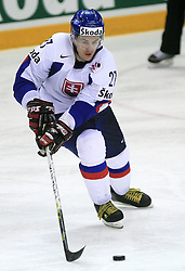Ivan Ciernik of Slovakia at ice-hockey game Slovenia vs Slovakia at second game in  Relegation  Round (group G) of IIHF WC 2008 in Halifax, on May 10, 2008 in Metro Center, Halifax, Nova Scotia, Canada. Slovakia won after penalty shots 4:3.  (Photo by Vid Ponikvar / Sportal Images)