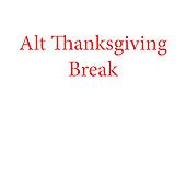 Alt Thanksgiving Break