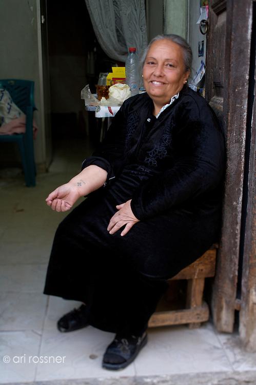 Coptic woman, Cairo, Egypt