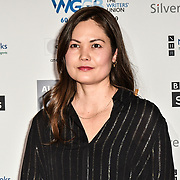 Maria Lynn Bracht - best First Novel (White Chrysanthemum) attends 2019 Writers' Guild Awards at Royal College of Physicians on 14 January 2019, London, UK