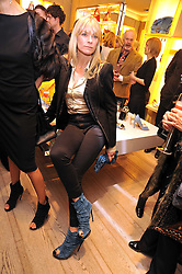 DEBBIE LENG at a Champagne & chocolate party hosted by Roger Vivier at their store in Sloane Street, London on 12th February 2009.  The evening was in aid of The Silver Lining charity.