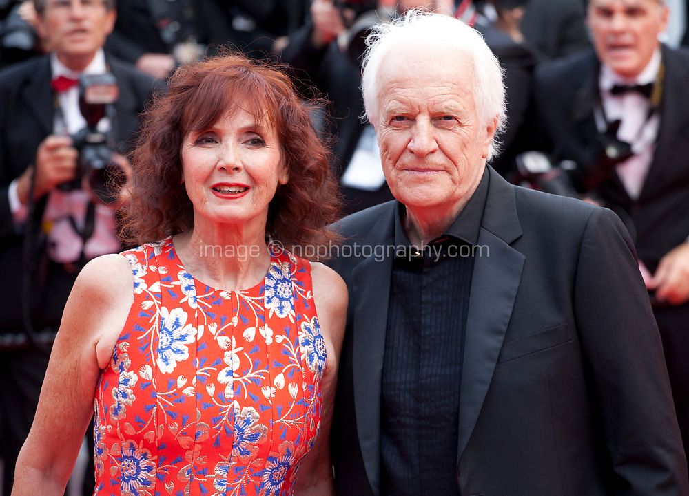 Andre Dussolier and Sabine Azema at the Opening Ceremony and The Dead Don't Die gala screening at the 72nd Cannes Film Festival Tuesday 14th May 2019, Cannes, France. Photo credit: Doreen Kennedy