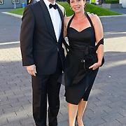 NLD/Hilversum/20100830 - Voetbalgala 2010, Foeke Booy en partner Wendy