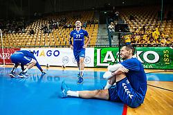 during handball event named Rokometna simfonija organised as a game between Zorman's team and Zvizej's team when Uros Zorman and Luka Zvizej officially retire from their professional handball career, on October 24, 2019 in Arena Zlatorog, Celje, Slovenia. Photo by Grega Valancic/ Sportida