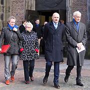 NLD/Utrecht/20140215 - Herdenkingsdienst Els Borst in de Domkerk, Boris van Ham