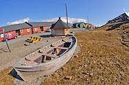 Alberto Carrera, Old Boat, Longyearbyen, Arctic, Spitsbergen, Svalbard, Norway, Europe