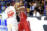 DESCRIZIONE : Desio Lega A 2013-14 EA7 Emporio Armani Milano Giorgio Tesi Pistoia<br /> GIOCATORE : Wanamaker Brab<br /> CATEGORIA : Palleggio<br /> SQUADRA : Giorgio Tesi Pistoia<br /> EVENTO : Campionato Lega A 2013-2014<br /> GARA : EA7 Emporio Armani Milano Giorgio Tesi Pistoia<br /> DATA : 04/11/2013<br /> SPORT : Pallacanestro <br /> AUTORE : Agenzia Ciamillo-Castoria/M.Mancini<br /> Galleria : Lega Basket A 2013-2014  <br /> Fotonotizia : Desio Lega A 2013-14 EA7 Emporio Armani Milano Giorgio Tesi Pistoia<br /> Predefinita :