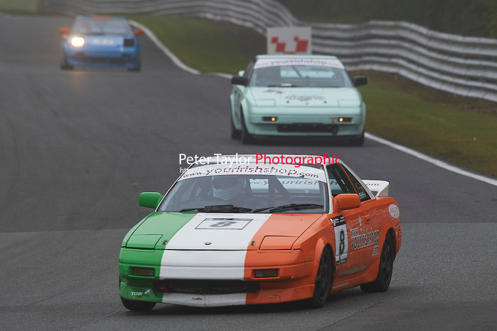 #8 Eddie O'KANE Toyota MR2 Mk1 during Nippon Challenge / Youririshshop.com MR2 Racing Series - Qualifying as part of the BARC Championships Race Day at Oulton Park, Little Budworth, Cheshire, United Kingdom. October 03 2015. World Copyright Taylor/PSP. Copy of publication required for printed pictures.  Every used picture is fee-liable.