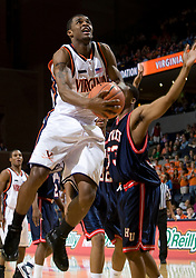 Virginia guard Jeff Jones (1)..The Virginia Cavaliers men's basketball team faced the Howard Bison at the John Paul Jones Arena in Charlottesville, VA on November 14, 2007.