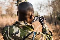 Black Rhino Monitoring, Majete Wildlife Reserve, Malawi.