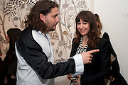 ADAM WAYMOUTH; ANNIE MORRIS; , There is a Land Called Loss | Annie Morris | Pertwee Andersen and Gold, in association with Adam Waymouth Art , Private View, 15 bateman st. W1 2nd February 2012