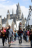 Harry Potter theme park at Universal Studio.