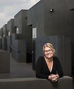 Portrait of Liz Davidson for Financial Advisor magazine in El Segundo, Calif.