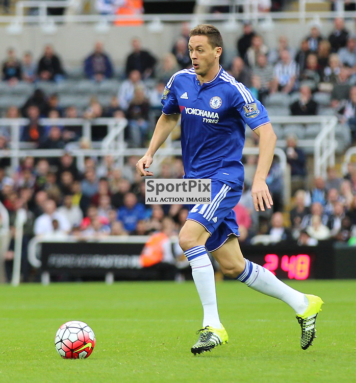 Newcastle United v Chelsea English Premiership 26 September 2015; Nemanja Matic (Chelsea, 21) during the Newcastle v Chelsea English Premiership match played at St. James' Park, Newcastle; <br /> <br /> &copy; Chris McCluskie | SportPix.org.uk