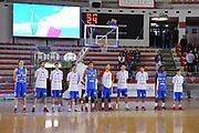 DESCRIZIONE : Roma LNP A2 2015-16 Acea Virtus Roma Moncada Agrigento<br /> GIOCATORE : Moncada Agrigento<br /> CATEGORIA : pre game inno squadra<br /> SQUADRA : Acea Virtus Roma<br /> EVENTO : Campionato LNP A2 2015-2016<br /> GARA : Acea Virtus Roma Moncada Agrigento<br /> DATA : 18/10/2015<br /> SPORT : Pallacanestro <br /> AUTORE : Agenzia Ciamillo-Castoria/G.Masi<br /> Galleria : LNP A2 2015-2016<br /> Fotonotizia : Roma LNP A2 2015-16 Acea Virtus Roma Moncada Agrigento
