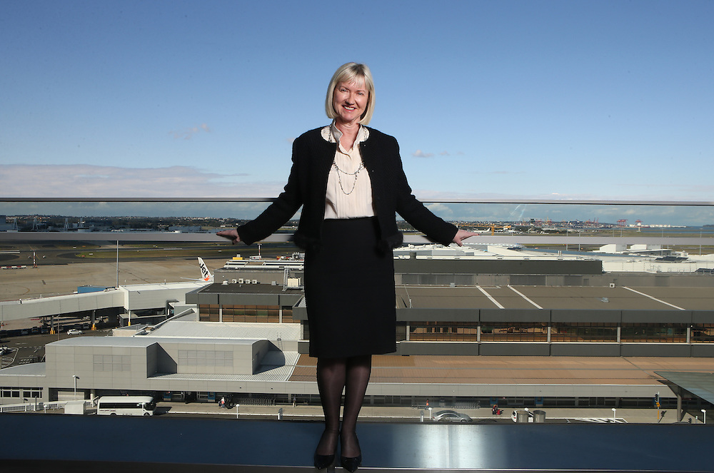 Sydney Airport CEO Kerrie Mather.