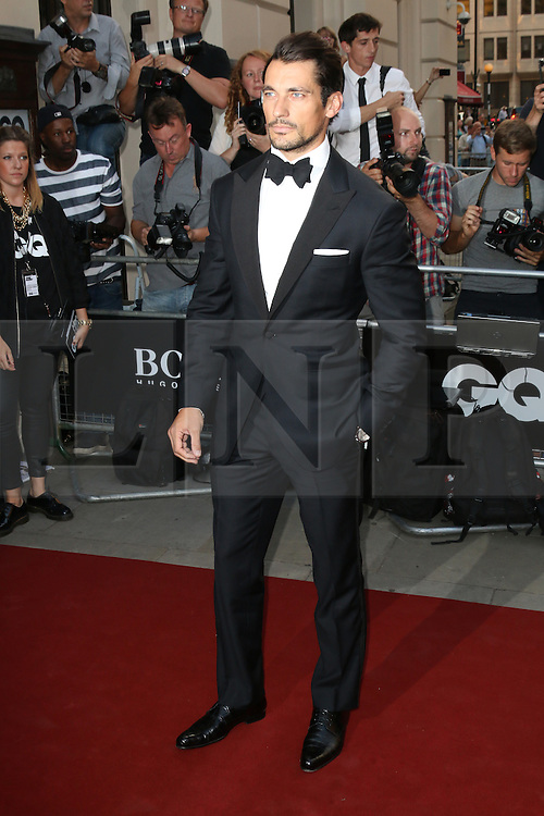 David Gandy, GQ Men of the Year Awards, Royal Opera House, London UK, 03 September 2013, (Photo by Richard Goldschmidt)
