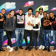 NLD/Den Haag/20160927 - Bekendmaking Dutch Act nominaties MTV EMA's, Broederliefde, Kay Nambiar, Ronnie Flex en Julius Jordan