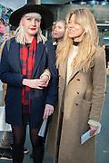 KALIE DELLA VALLE; SAVANNA SMITH HAYZER, Art13 London First night, Olympia Grand Hall, London. 28 February 2013