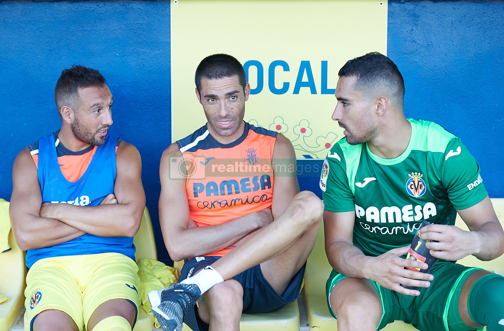 July 17, 2018 - Villareal, Castellon, Spain - Santi Cazorla, Bruno Soriano and Sergio Asenjo of Villarreal CF during the friendly match between Villarreal CF and Hercules at Ciudad Deportiva of Miralcamp on July 17, 2018 in Vila-real, Spain  (Credit Image: © Maria Jose Segovia/NurPhoto via ZUMA Press)