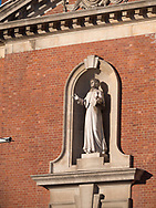 Statue of Saint Elizabeth Ann Seton at the Church of Our Lady of the Rosary near Battery Park, New York City
