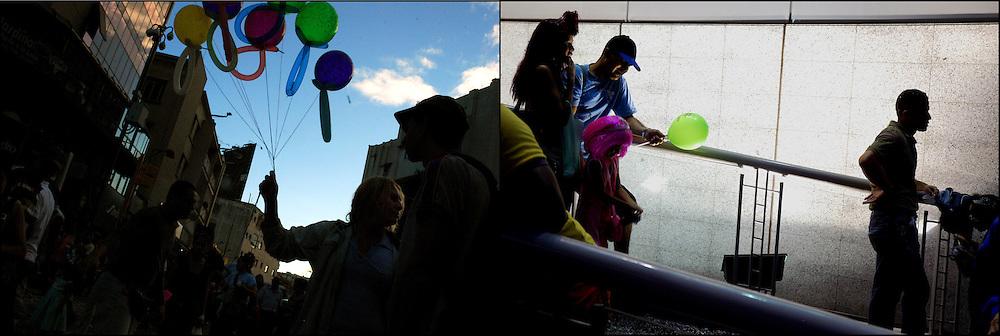 CARNESTOLENDAS / CARNAVALES DE CARACAS<br /> Photography by Aaron Sosa<br /> Carnival of Caracas<br /> Venezuela 2009.<br /> (Copyright &copy; Aaron Sosa)