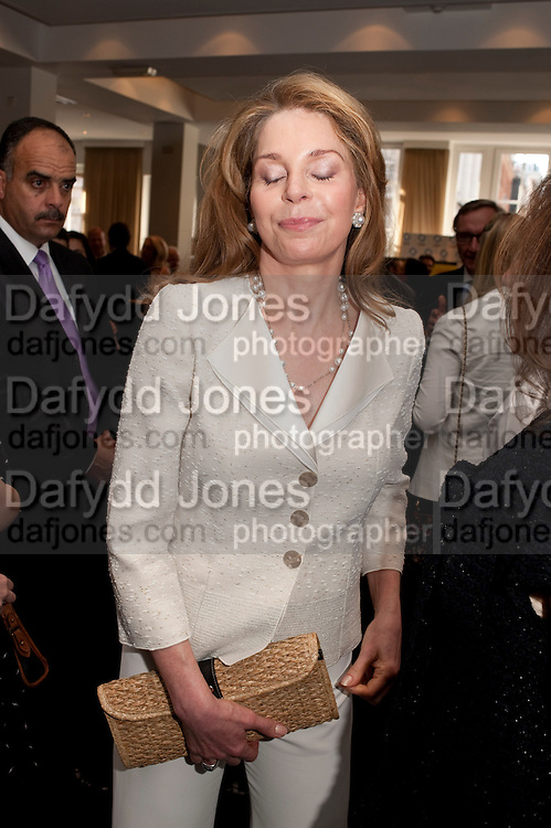 QUEEN NOOR OF JORDAN, Gala screening of COUNTDOWN TO ZERO, Bafta. Piccadilly. London. 21 June 2011. <br /> <br />  , -DO NOT ARCHIVE-© Copyright Photograph by Dafydd Jones. 248 Clapham Rd. London SW9 0PZ. Tel 0207 820 0771. www.dafjones.com.